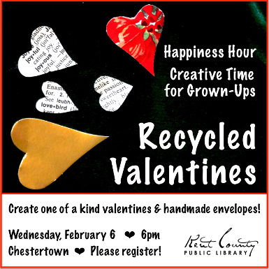 Happiness Hour: Recycled Valentines