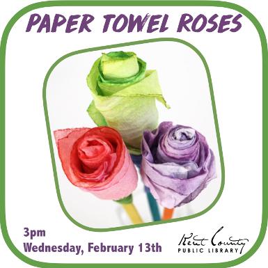 Paper Towel Roses