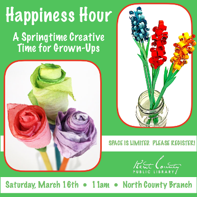 Happiness Hour: Flower Power!