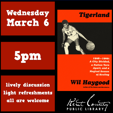 Discuss Tigerland by Wil Haygood with THE BOOK GROUP