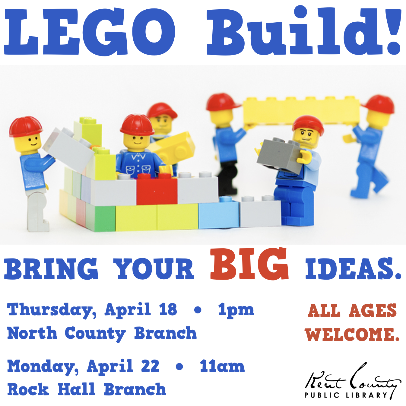 LEGO Build at Rock Hall