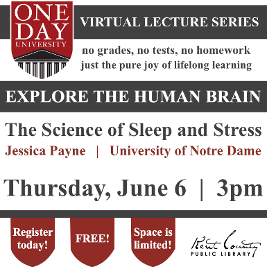 One Day University: The Science of Sleep & Stress