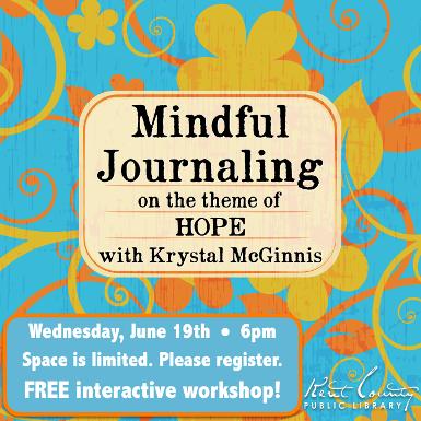 Mindful Journaling - Theme: Hope