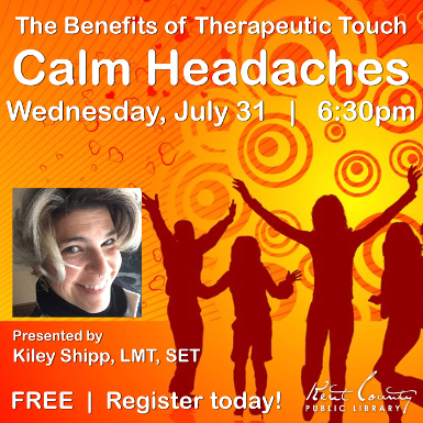 Calm Headaches - Part 2 of The Benefits of Therapeutic Touch Series