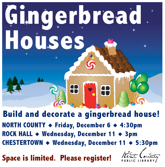 Gingerbread Houses: Build and Decorate