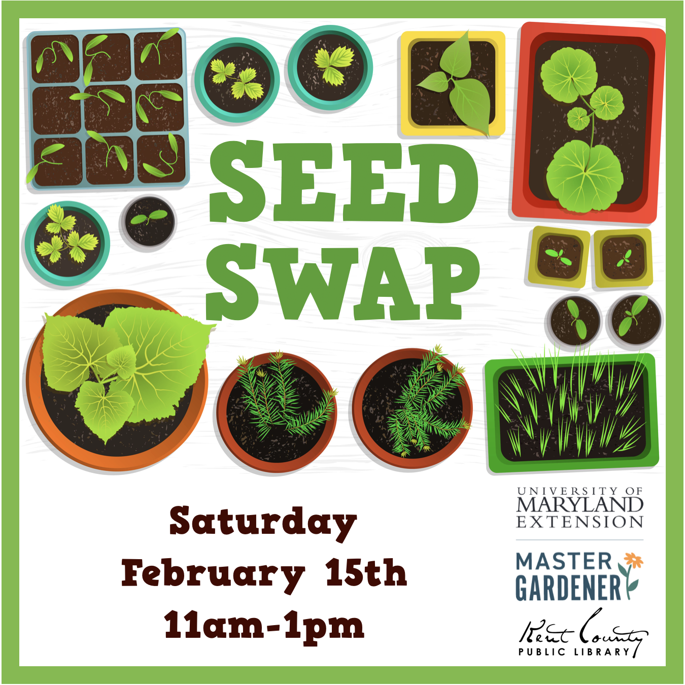 Sixth Annual Garden Seed Swap