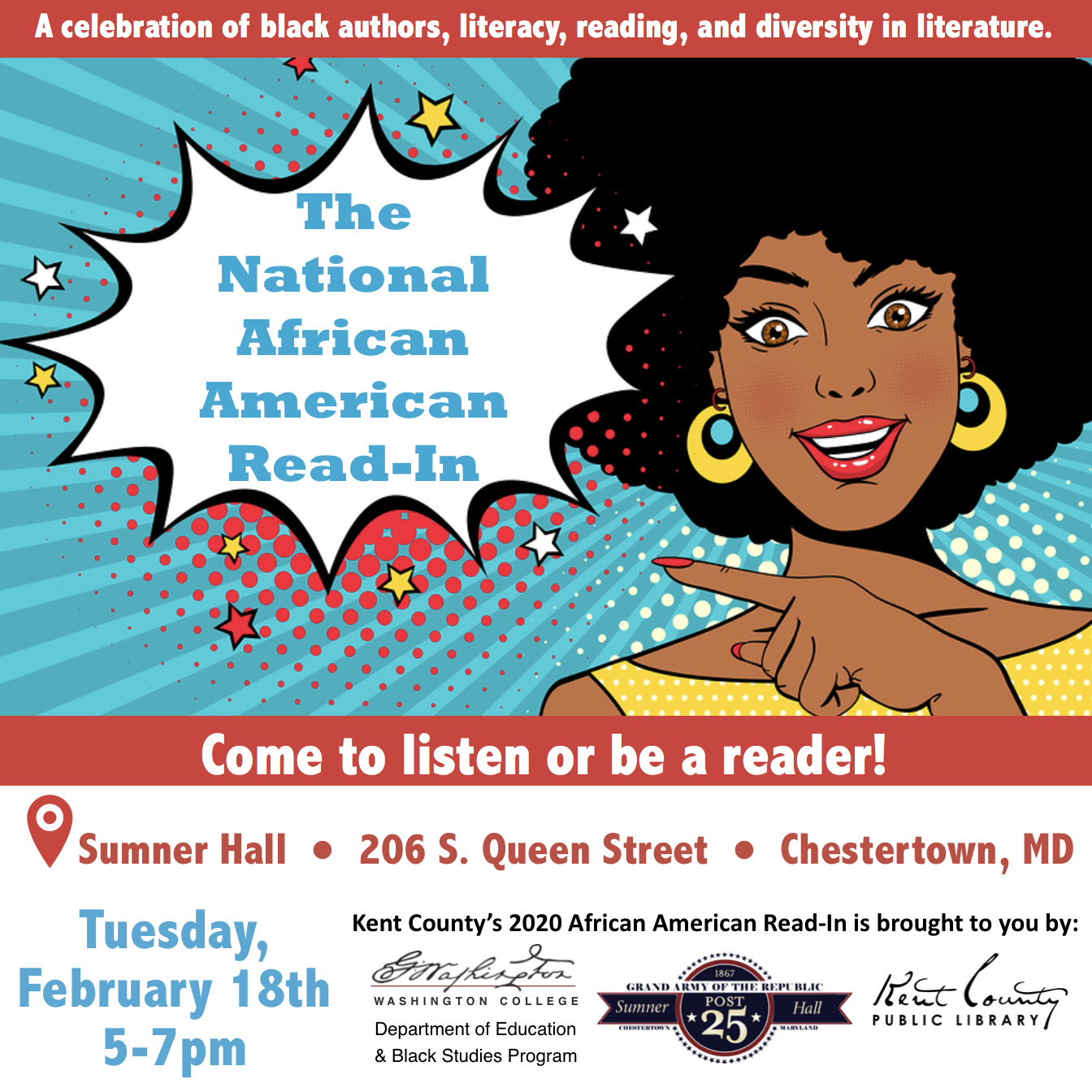 Kent County's 2020 African American Read-In