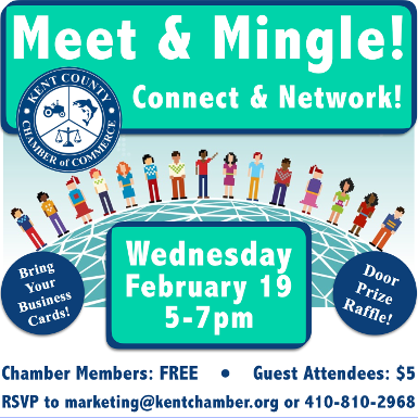 Kent County Chamber of Commerce - MEET & MINGLE